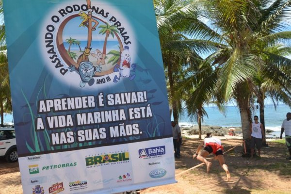 [Praia de Stella Maris recebe projeto 'Passando o Rodo Nas Praias' no próximo dia 15]