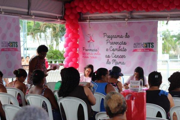[INTS realizou mais de 400 mamografias gratuitas durante o Outubro Rosa]