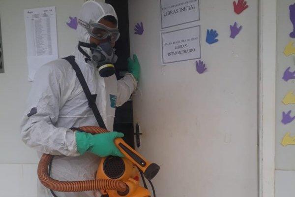 [Busca por serviço de Sanitização de ambientes tem aumento de 90% nos últimos dias]