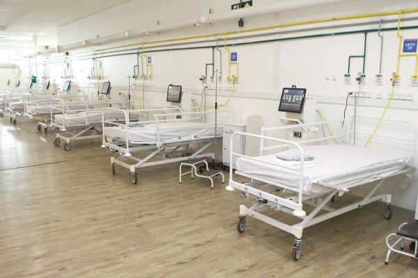 [Novos leitos de UTI são disponibilizados no Hospital de campanha da Arena Fonte Nova]