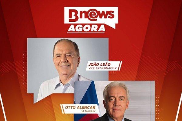 [Senador Otto Alencar e Vice-Governador João Leão são os entrevistados da primeira edição do BNews Agora]