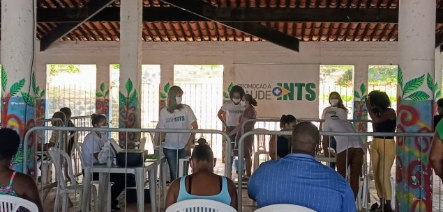 Ação de Alimentação e Nutrição atendeu gratuitamente aproximadamente mil pessoas